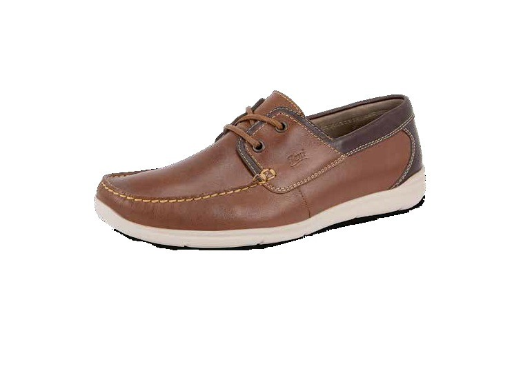 8f0aa48f75449 Zapatos Para Caballero Flexi Color Azul Y Miel Modelo 98203 ...