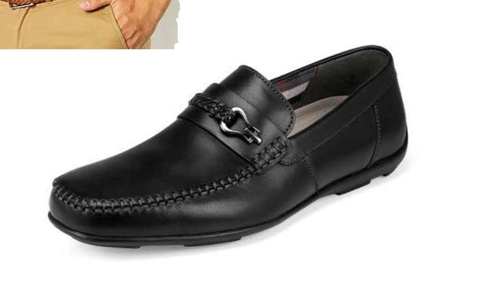 e425a8c7cde23 Zapatos Para Caballero Flexi Color Negro tan Modelo 68612 ...