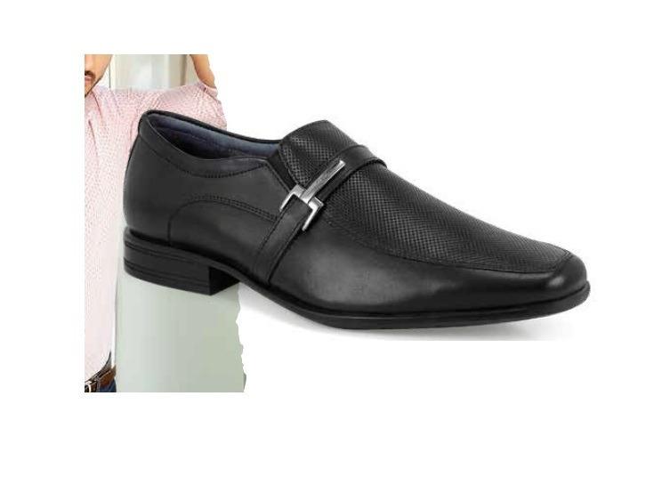 f827216760f55 Zapatos Para Caballero Flexy Color Negro Modelo 90704 -   1