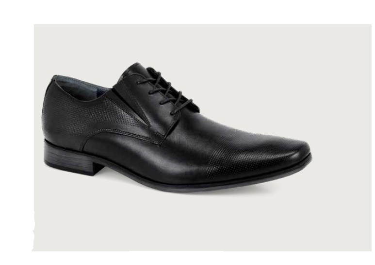 d5610391f9e0c Zapatos Para Caballero Vertical Negro Y Tan Modelo 1500 -   729.00 ...