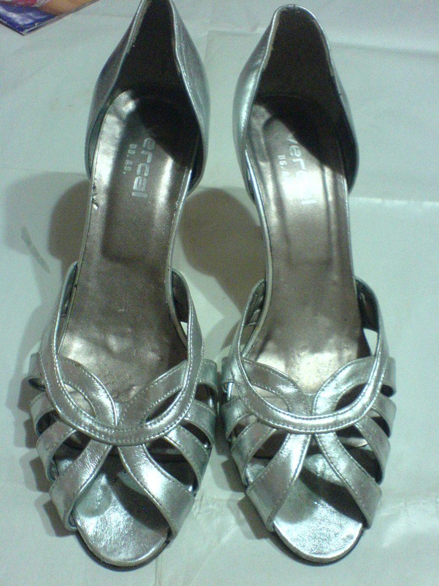 1bbe45c4c8c Medio Fiesta Zapatos Cm Para N° En Color Plata Zoom 8 Cargando De 38 ygY6bf7