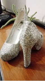 b8cff677759 Zapatos De 15 Plateados - Zapatos de Mujer en Mercado Libre Argentina