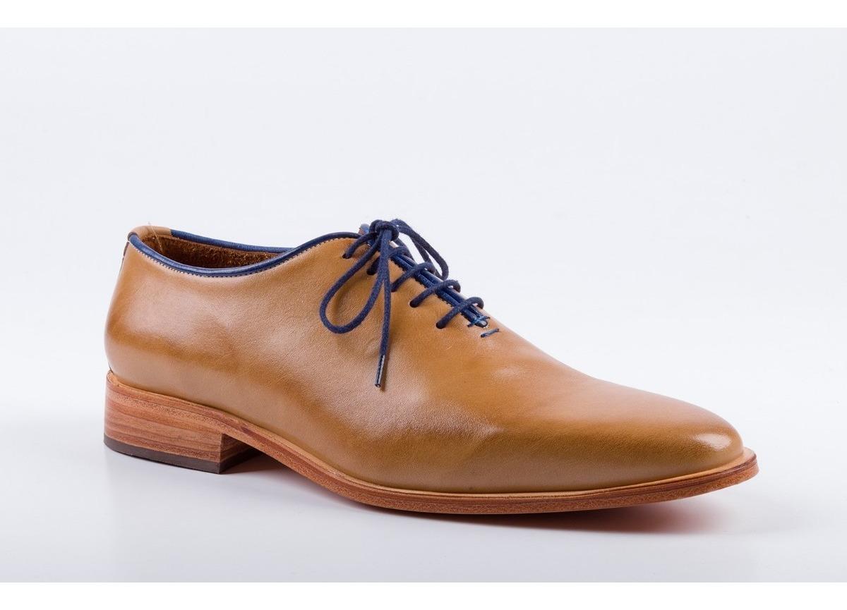 Zapatos Malaga Hombre Para Modelo Color Habano AS3j54LqcR