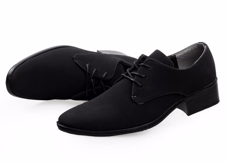 Zapatos negros para hombre 45DIyNow