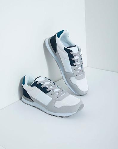 zapatos para hombre sochi negros con combinación de material