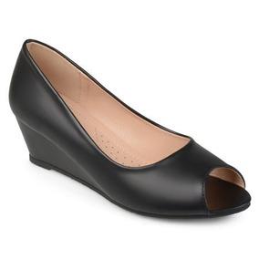 Cuero Comfort Cu Zapatos Para Imitacion Mujer De Suela N80vmnwO