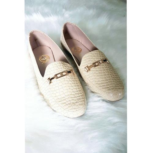 zapatos para mujer mocacin beige