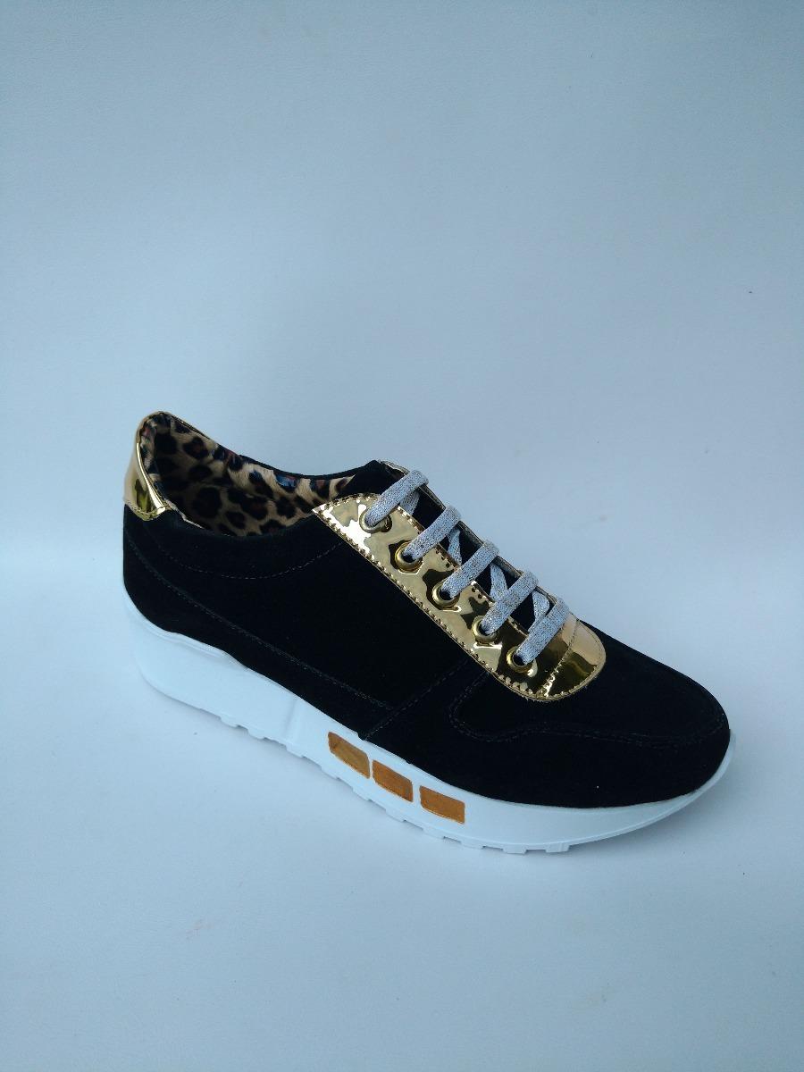 zapatos para mujer negros tenis casuales para mujeres unicas. Cargando zoom. b17e540818ed