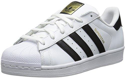 new product e817a ce377 zapatos para mujer superstar de adidas originals, blanco