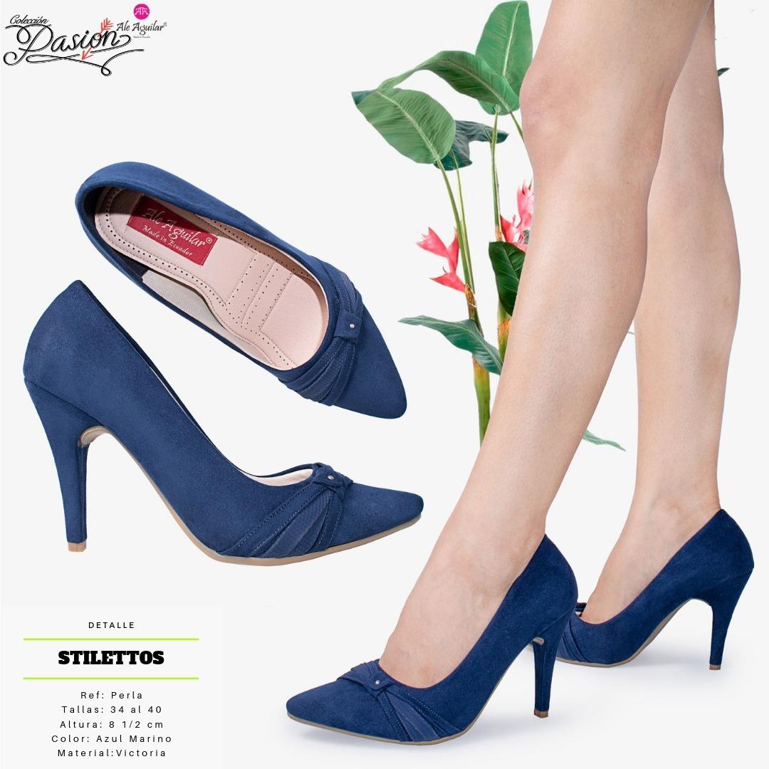 De Desde Para 40 8 Tallas Cm 34 Tacones Alto Zapatos A Mujer Rc3Aj54LqS