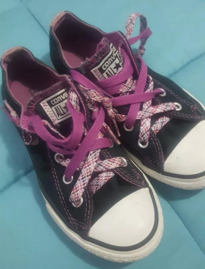 Zapatos Para Niña Converse Original Talla Eu31