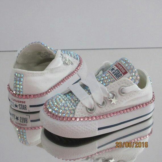 9bf5ba76a Zapatos Para Niñas Decorados Tipo Converse - Bs. 87.923