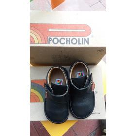 Zapatos Para Niños Color Negro Marca Pocholin Talla20 Nuevos