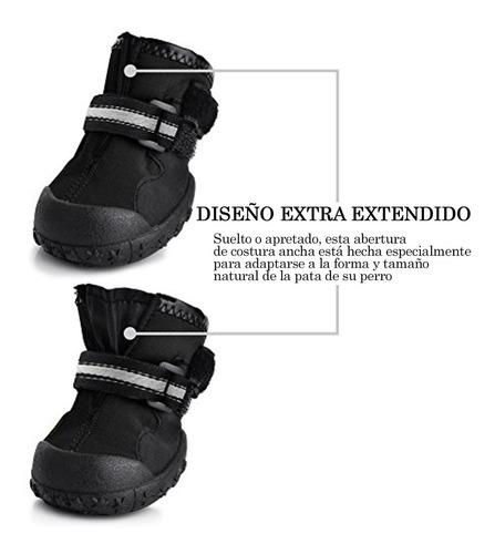 zapatos para perro petacc resistentes al agua antideslizante