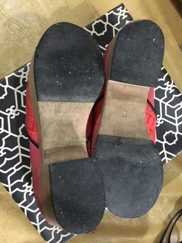 zapatos paruolo bases t37 color rosa c/detalles tachas