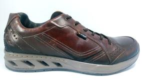 Marron Pegada 117701d Hombre Zapatos Para Casual Amortech rCoxdeB