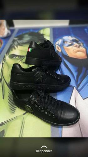 zapatos philipp plein en cuero 100%