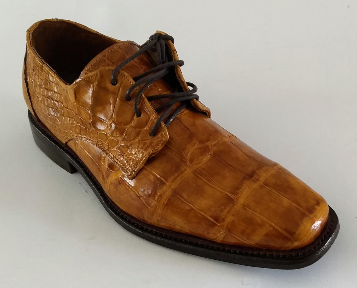 zapatos deportivos 3da64 290a4 Zapatos Piel Cocodrilo Vestir Casual