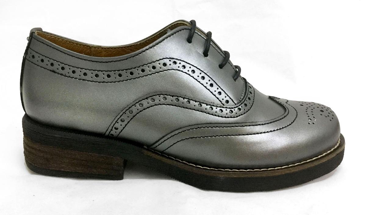 66c46bbe5c08e Zapatos Piel Mujer Vestir E-310 Artesanal Escolar -   1