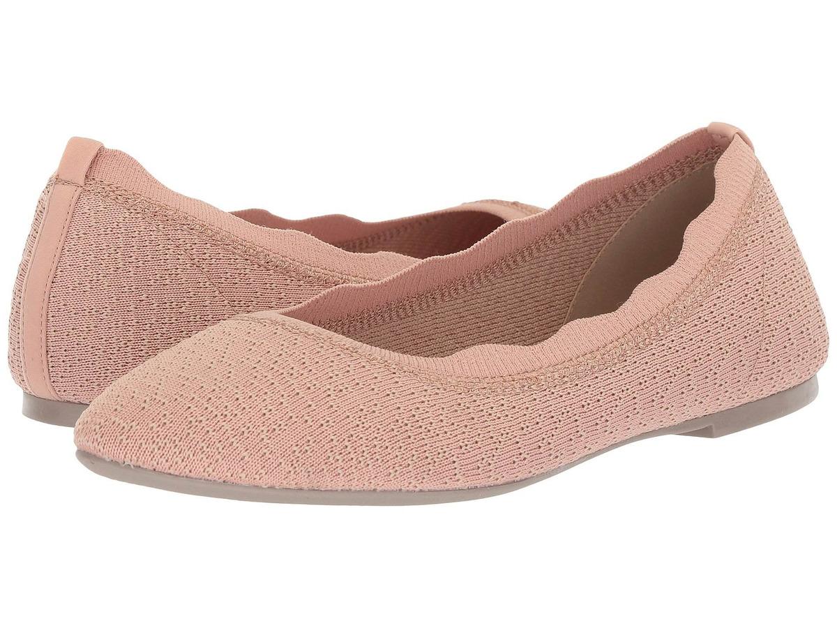 Goma Zapatos Mujer Zapatos planos para mujer Skechers