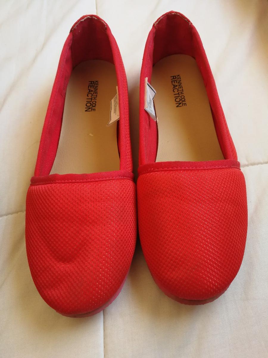 8008b1e8 Zapatos Planos Rojos Kenneth Cole Reaction - $ 10.000 en Mercado Libre