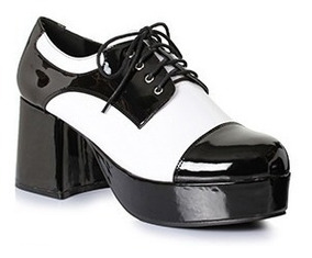 varios diseños como encontrar 100% de satisfacción Zapatos Plataforma 70s 312-freddy Disco Disfraz Dj Travolta