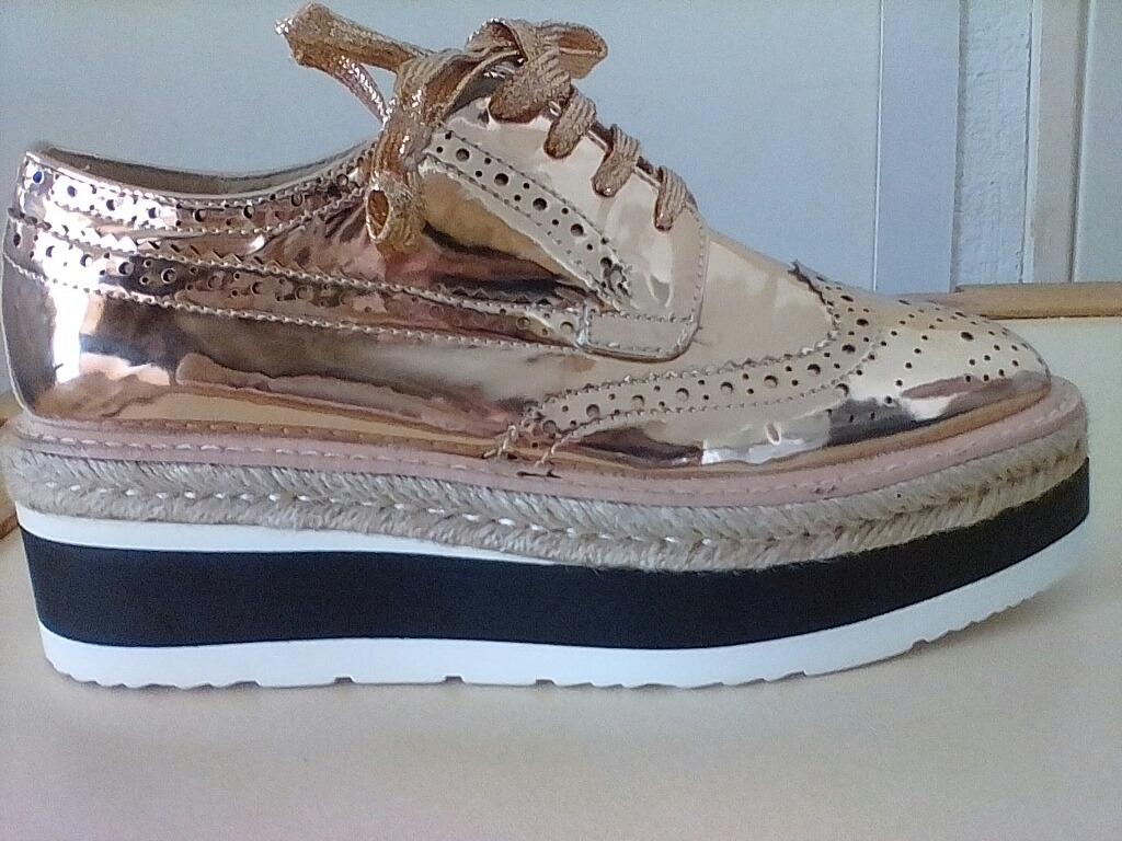 38e6b834 Zapatos Plataforma Elegante De Marca. - Bs. 155.000,00 en Mercado Libre