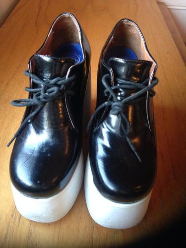 zapatos plataforma jeffrey cambell num 36 m usa