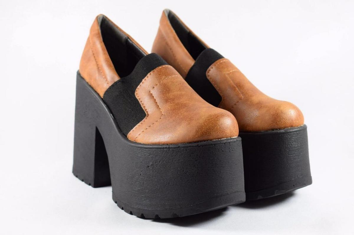 75fd6476b04a Zapatos Plataforma Moda Mujer Otoño Invierno 2018