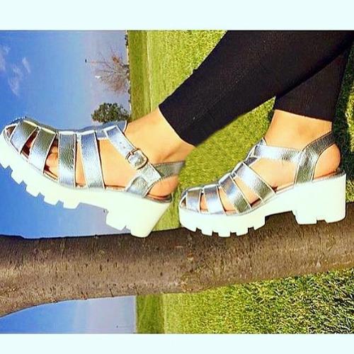 zapatos plataforma mujer
