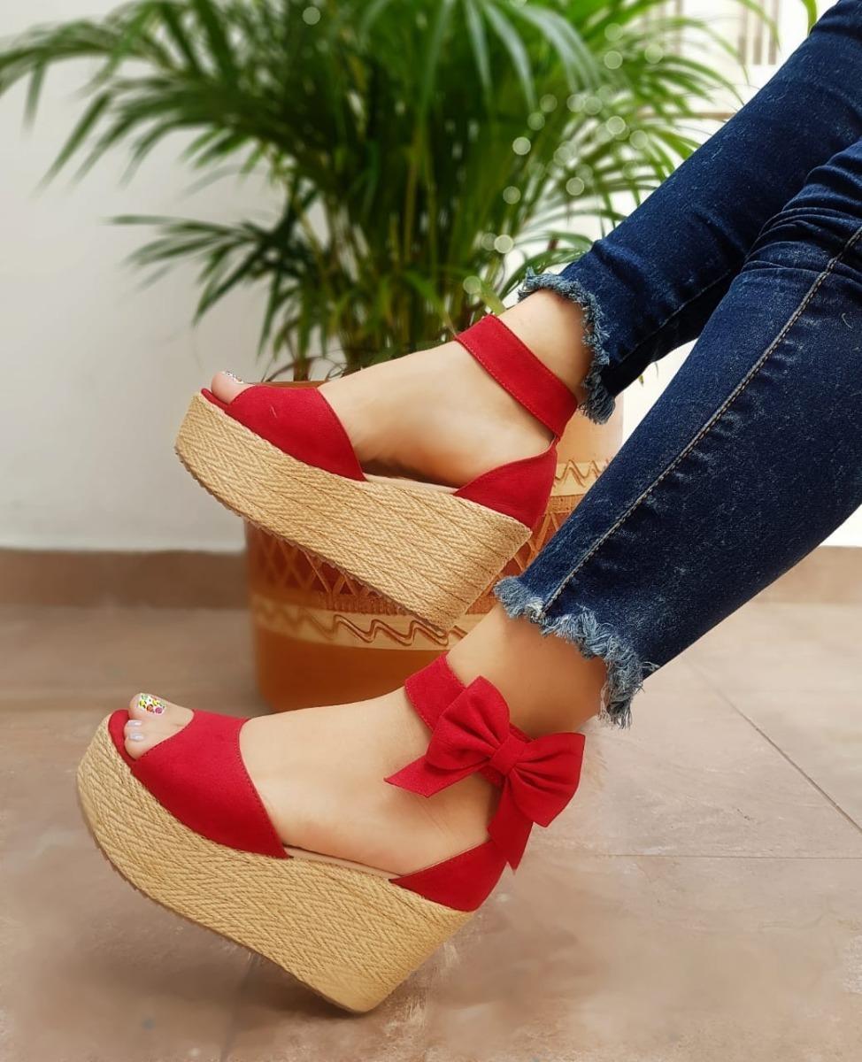 nuevo estilo 1bddd 69db3 Zapatos Plataforma Mujer Sp Envió Gratis