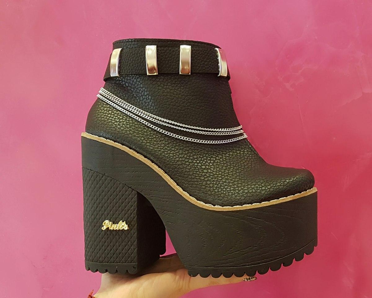 201f435f4185 Zapatos Plataforma Otoño- Invierno 2017/18