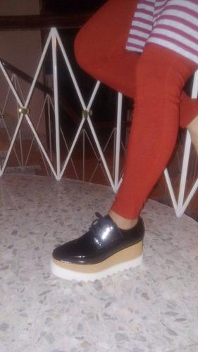 zapatos plataforma stella mccartney italianos, originales!