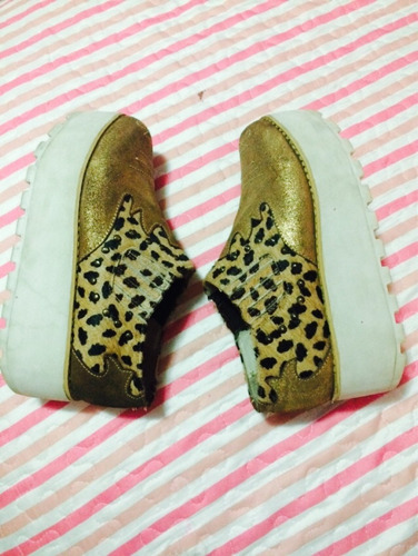 zapatos plataforma vanessagil, numero37