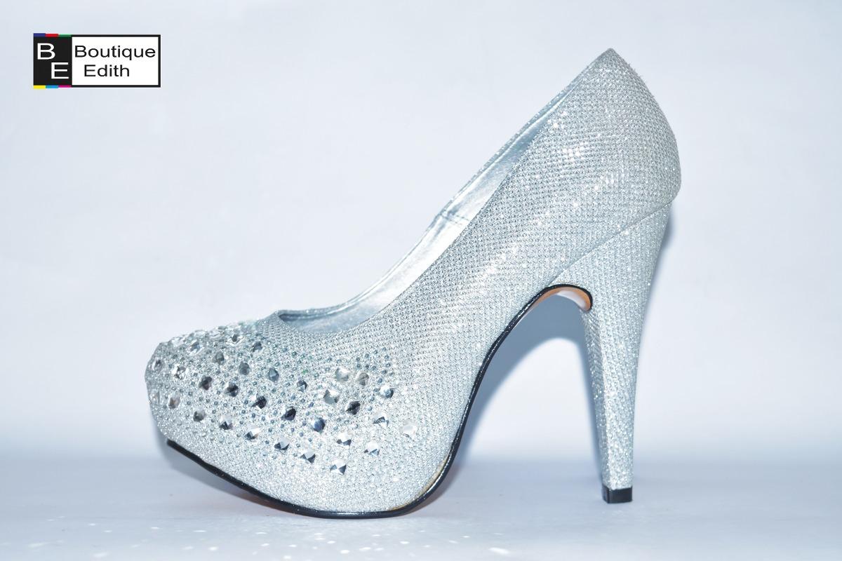 Plateado Peru Todo De El Zapatos Para A Fiesta Envios Mujer uJlKT3Fc1