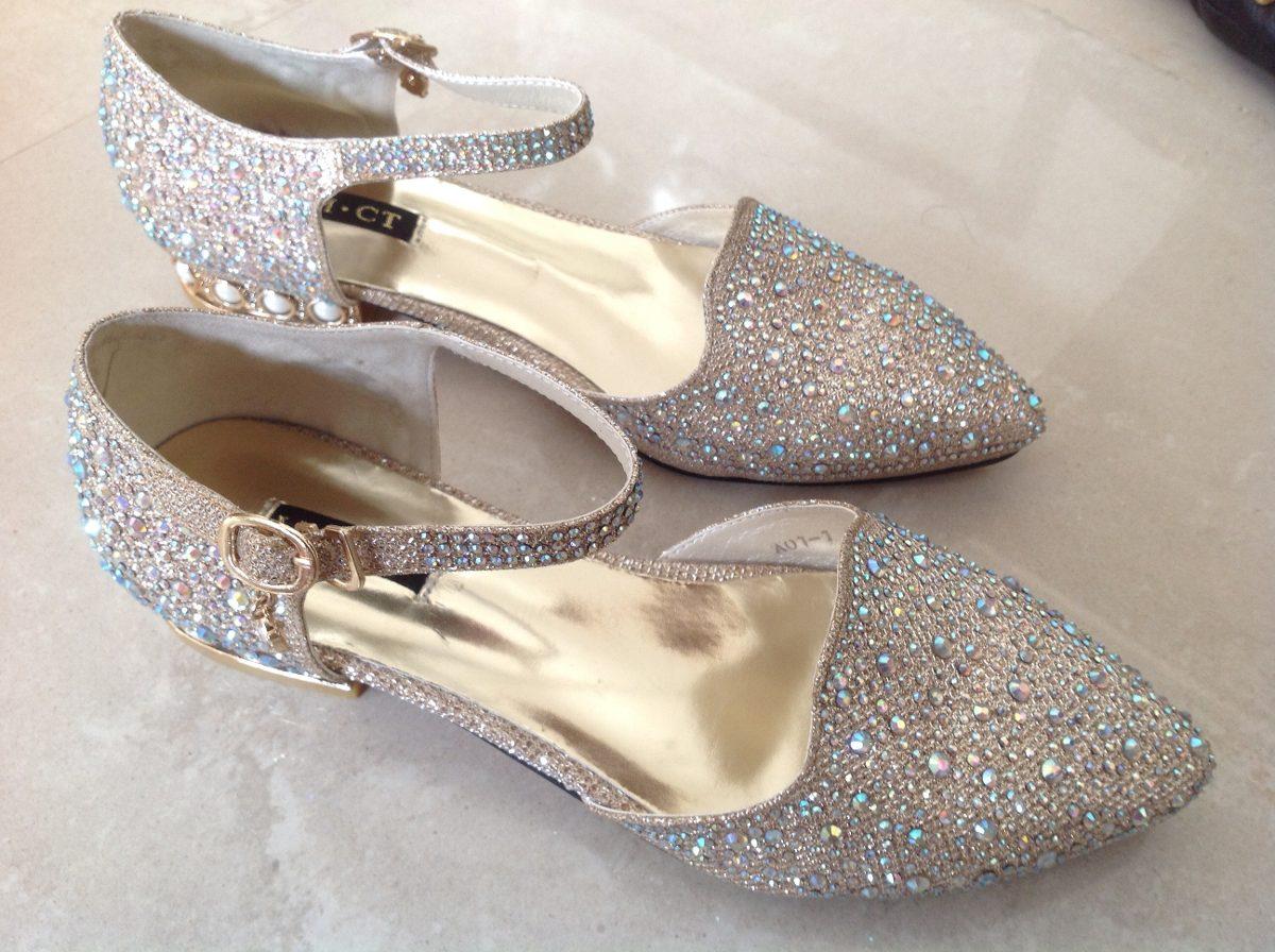 original de costura caliente nueva precios más bajos original de costura caliente Zapatos Plateado Taco Bajo Fiesta Únicos Mujer 15 Casamiento