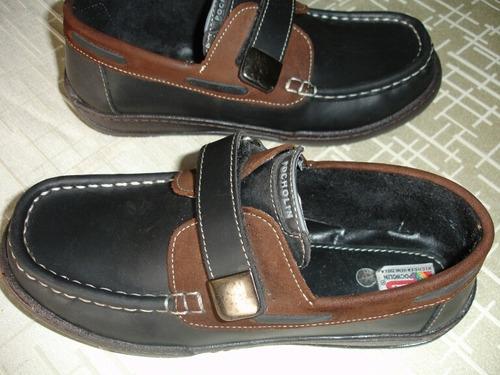 zapatos pocholin niño 100 % cuero talla 37