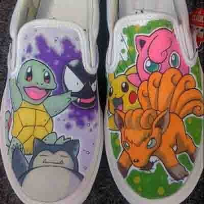 zapatos pokemon classic p diseño hecho a mano marca collec