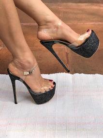 74e52e6a Tacon 15 Cm - Zapatos en Mercado Libre México
