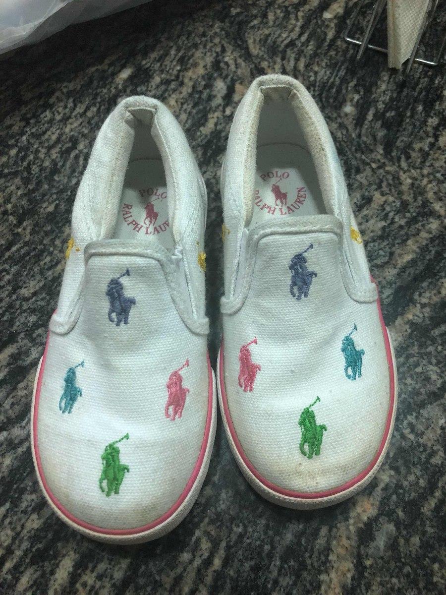 8f02024bbd864 zapatos polo ralph lauren niña originales 15 cms talla 25. Cargando zoom.