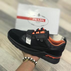 Clásico Zapatos En Caja Hombre Prada Elegante Zapatillas Ybgy7fvI6m