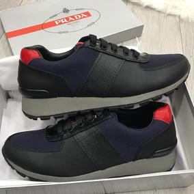 rendimiento confiable zapatillas de deporte para baratas información para Zapatos Prada Hombre Elegantes Excelente Calidad En Caja