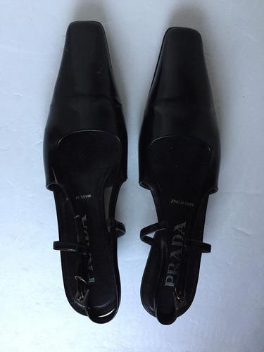 zapatos prada negros originales