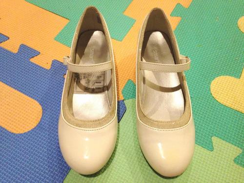 zapatos primera comunión  fiesta talla 12.5 traídos de miami