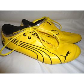 Zapatos Puma Ferrari Future Cat Amarillos