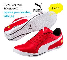 Zapatos Puma Ferrari Selezione Ii Talla 9.5 Hombre Nuevos
