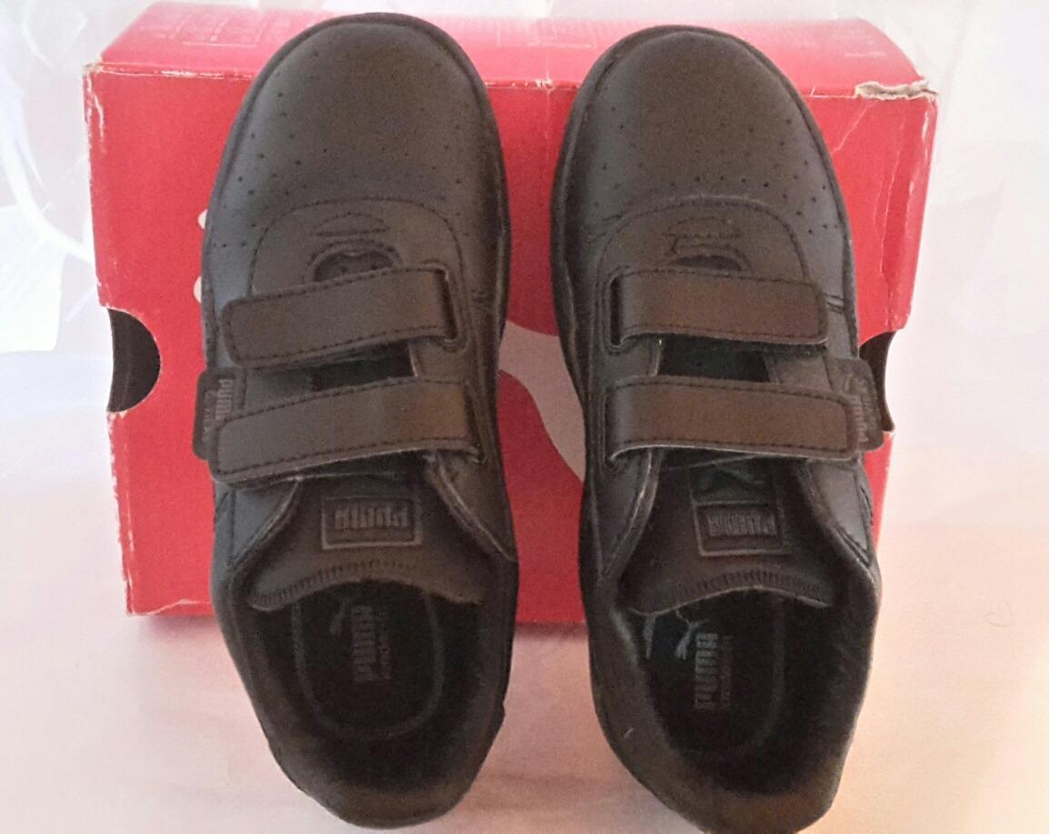 Zapatos Puma Negros Para Niños
