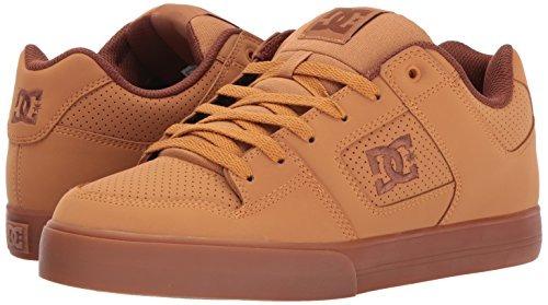 DC Zapatos puros de hombre, trigo / chocolate negro, 7.5 D US