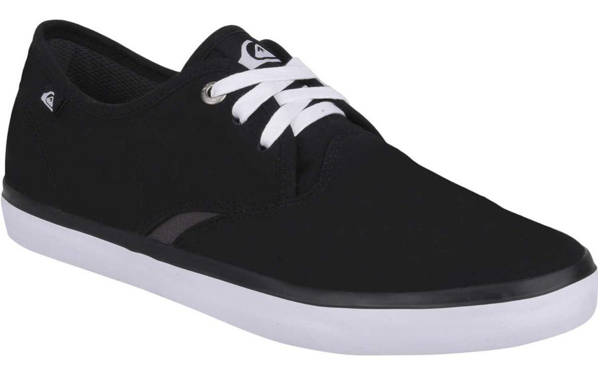 nuevo estilo 748e9 e267a Zapatos Quiksilver Shorebreak - Negro/blanco
