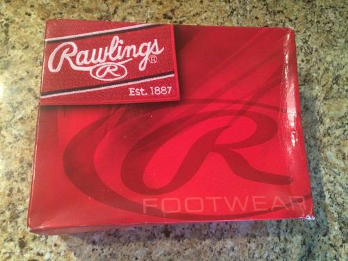 zapatos rawlings est.1887 originales 9 1/2 nuevos